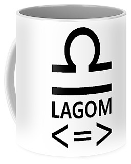 Lagom - Less Is More II Coffee Mug