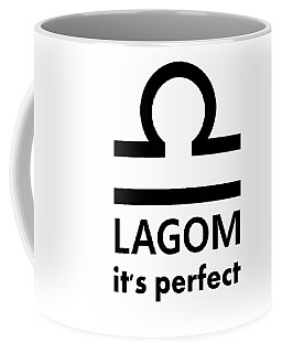 Lagom - Perfect Coffee Mug