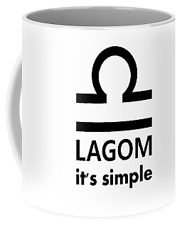 Lagom - Simple Coffee Mug