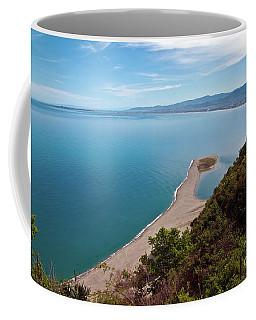Lagoon Of Tindari On The Isle Of Sicily  Coffee Mug