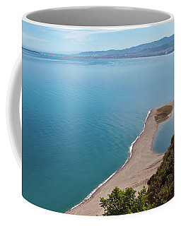 Lagoon Of Tindari On The Isle Of Sicily  Coffee Mug