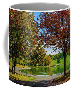Lagoon Park In Montreal Coffee Mug