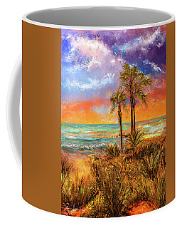 Laguna Beach At Sunset Coffee Mug