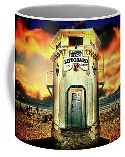Laguna Beach Lifeguard Hq Coffee Mug