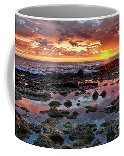 Laguna Beach Tidepools At Sunset Coffee Mug