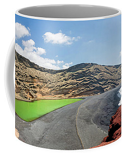 Coffee Mug featuring the photograph Laguna Verde by Delphimages Photo Creations