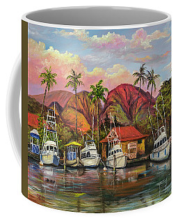 Lahaina Harbor Sunset Coffee Mug