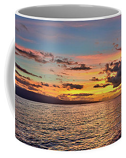 Lahaina Sunset Panorama Coffee Mug