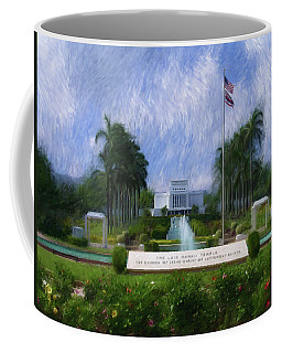 Laie Hawaii Temple Coffee Mug