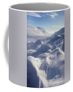 Lairig Ghru In Winter - Cairngorm Mountains Coffee Mug