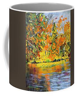Lake Aerofloat Fall Foliage Coffee Mug