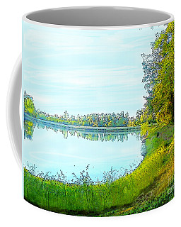 Lake And Woods Coffee Mug by Craig Walters