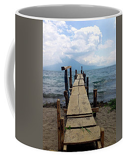 Lake Atitlan Dock Coffee Mug