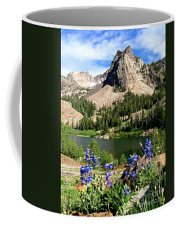 Lake Blanche And Sundial Peak Coffee Mug