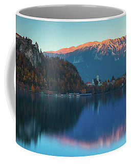 Lake Bled Panorama Coffee Mug