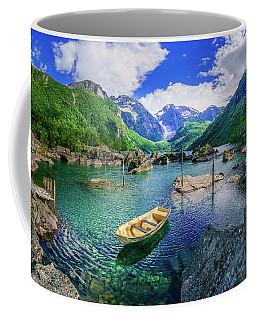 Lake Bondhusvatnet Coffee Mug