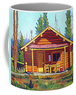 Lake Cabin Coffee Mug