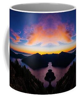 Lake Crescent Reflection Coffee Mug