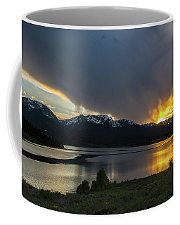 Lake Dillon And Gore Range Sunset Coffee Mug