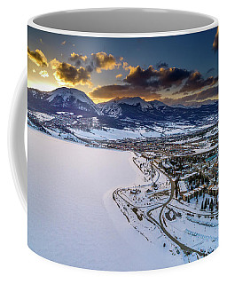 Coffee Mug featuring the photograph Lake Dillon Sunset by Sebastian Musial