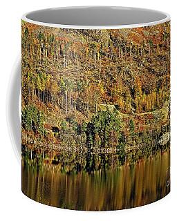 Lake District Autumn Tree Reflections Coffee Mug
