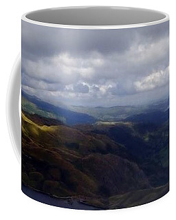 Lake District Panoramic Coffee Mug