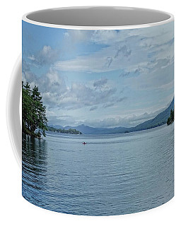 Lake George Kayaker Coffee Mug