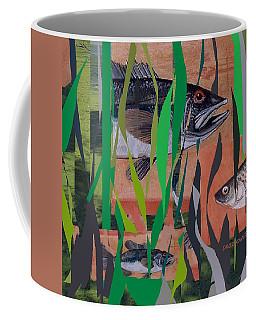 Lake Habitat Coffee Mug by Andrew Drozdowicz