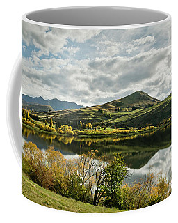Coffee Mug featuring the photograph Lake Hayes by Chris Cousins