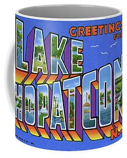 Lake Hopatcong Greetings Coffee Mug