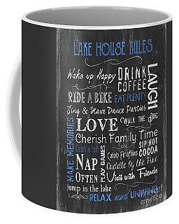 Lake House Rules Coffee Mug