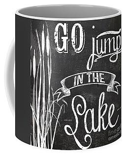 Lake House Rustic Sign Coffee Mug