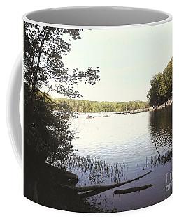 Lake At Burke Va Park Coffee Mug