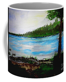 Lake In Virginia The Painting Coffee Mug