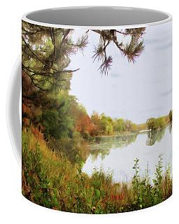 Lake Katherine In October Coffee Mug