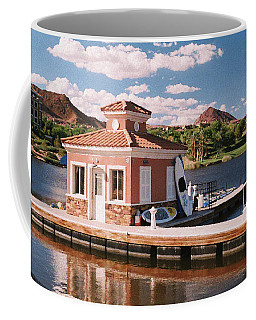 Lake Las Vegas Boathouse Coffee Mug