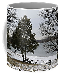 Coffee Mug featuring the photograph Lake Marburg by Donald C Morgan