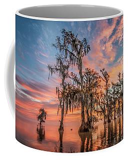 Lake Maurepas On Fire Coffee Mug