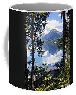 Lake Mcdlonald Through The Trees Glacier National Park Coffee Mug