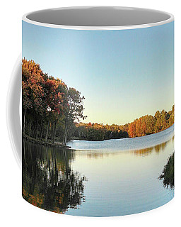 Coffee Mug featuring the photograph Lake by Melinda Blackman