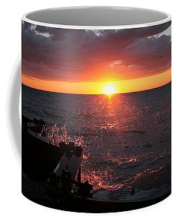 Coffee Mug featuring the photograph Lake Michigan Sunset by Bruce Patrick Smith