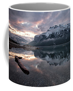 Lake Minnewanka Dawn Coffee Mug