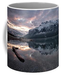 Lake Minnewanka Dawn Coffee Mug