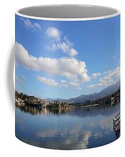 Lake Mission Viejo Cloud Reflections Coffee Mug