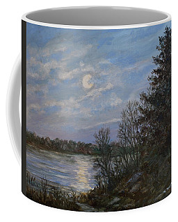 Lake Moonrise Coffee Mug