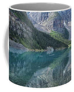 Coffee Mug featuring the photograph Lake Moraine by Patricia Hofmeester