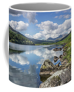 Lake Mymbyr And Snowdon Coffee Mug by Ian Mitchell