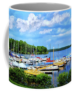 Lake Nockamixon Marina Coffee Mug
