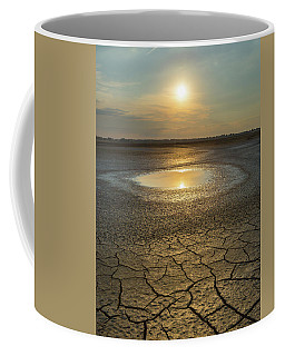 Lake On Fire Coffee Mug