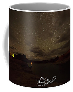 Coffee Mug featuring the photograph Lake Powell Stars by Brenda Jacobs